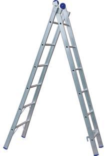 Escada Extensível 5161 12 Degraus 2 X 6 - Mor