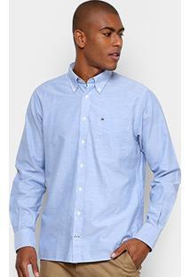 Camisa Tommy Hilfiger Custom Fit - Masculino