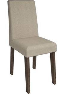 Cadeira Cimol Beatriz Amadeirado (2 Unidades) Marrocos/Caramelo
