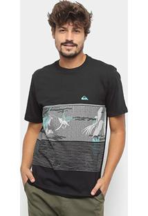 Camiseta Quiksilver Bas Stacks For Days - Masculina - Masculino