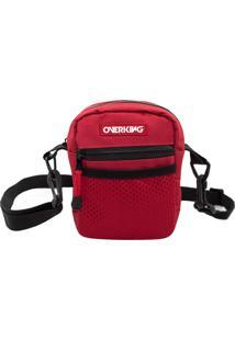 Bolsa Lateral Shoulder Bag Overking V1 Vermelha