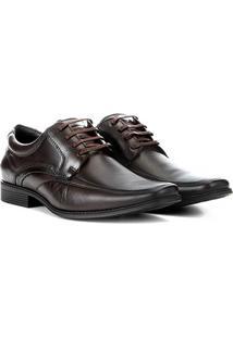 Sapato Social Pipper Duke Masculino - Masculino-Marrom Claro