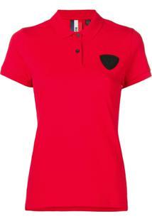 Rossignol Camisa Polo Com Patch - Vermelho