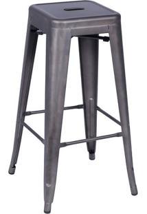 Banqueta Retrã´- Bronze- 77X41,5X41Cm- Or Designor Design