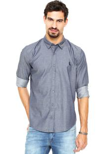 Camisa Reserva Maquineta Azul