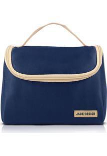 Necessaire Térmica Tamanho Grande Jacki Design Essencial I Azul