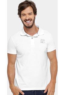Camisa Polo Zune Piquet Bordado Masculina - Masculino