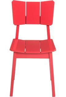 Cadeira Uma - Vermelha