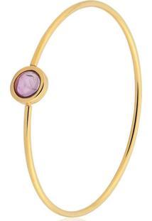 Pulseira Toque De Joia Bracelete Circulo Pequeno Dourado