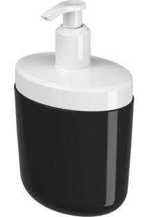 Porta-Sabonete Coza Líquido Full Preto