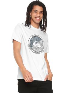Camiseta Quiksilver Board Branca