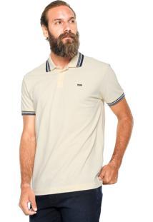 Camisa Triton Detalhe Bege