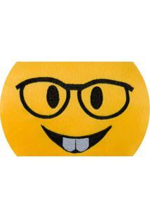 Almofada Capital Do Enxoval Emoji Nerd Estampado