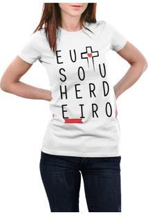 Camiseta Hunter Sou Herdeiro Branca
