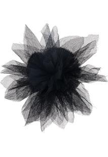 Undercover Broche Floral - Preto