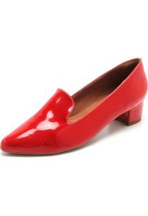 39b29ce73 Mocassim Vermelho Verniz feminino | Shoelover
