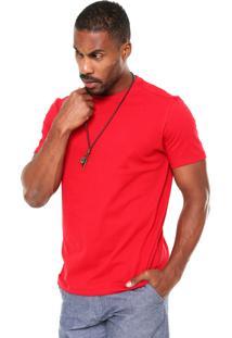 Camiseta Hering Reta Vermelha