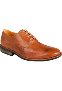 Sapato Social Masculino Derby Sandro & Co Smooth Ride - Masculino-Marrom