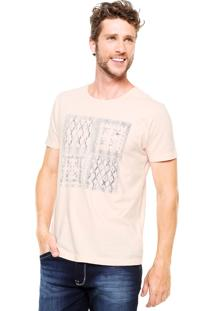 Camiseta Aramis Bandana Coral