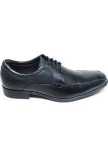 Sapato Masculino Social Alpha Flex Democrata Preto