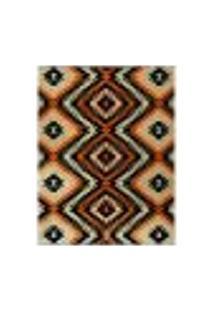 Tapete Marbella Monthelon Retangular (250X350Cm) Caramelo E Creme