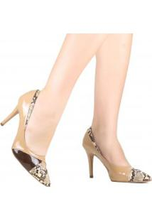 Sapato Zariff Scarpin Animal Print