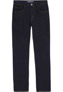 Calça Jeans Masculina Hering Em Modelagem Tradicional Escura