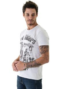 Camiseta Opera Rock Estonada Oprk Riders Branco