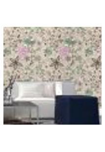 Papel De Parede Autocolante Rolo 0,58 X 3M - Floral 210120