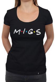Migs - Camiseta Clássica Feminina