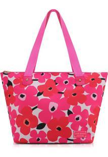 Bolsa Jacki Design Poliéster - Feminino-Pink