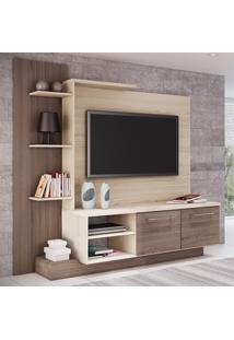 Estante Para Tv Com 7 Prateleiras Estar Decibal - Bali/Bancoc\R\N - Multistock