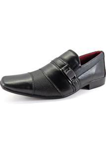 Sapato Social Masculino La Faire Preto J15