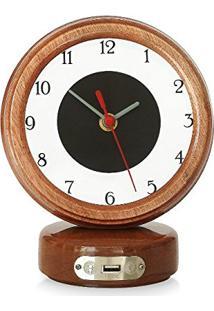 81747e2d4a0 ... Relógio De Mesa Com Usb Lusbe