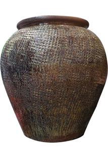 Vaso Vietnamita Rustico - Incolor - Dafiti
