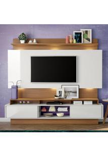 Painel Para Tv Tb113 Off White/Freijo - Dalla Costa