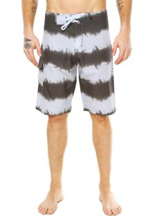 Bermuda Agua Hurley One&Only Out Line Cinza