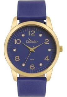 Relógio Condor Unissex Eterna Bracelete - Co2035Kwe/K2A Co2035Kwe/K2A - Unissex-Azul