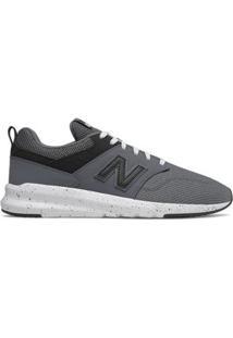 Tênis New Balance Masculino - Masculino-Cinza