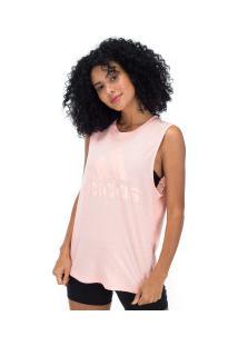 Camiseta Regata Adidas Id Winners Mt - Feminina - Rosa Claro