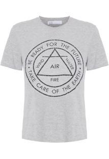 Camiseta Feminina Silk Madison – Cinza