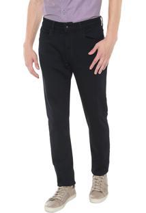 Calça Jeans Calvin Klein Slim Lisa Azul-Marinho