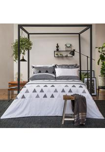 Jogo De Lençol Home Design Memphis King - Santista - Cinza