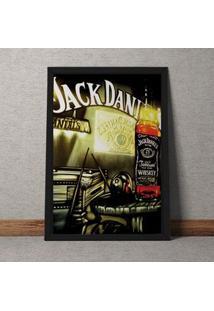 Quadro Decorativo Jack Daniels Vintage 35X25