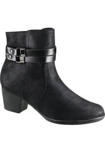 Bota Piccadilly Ankle Boot Feminina