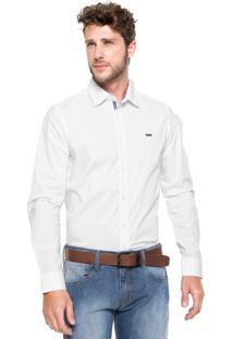 Camisa Triton Slim Branca