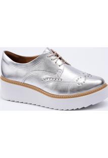 f3921ff6e Oxford Metalizado Moderno feminino | Shoelover