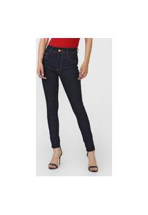 Calça Jeans Biotipo Skinny Melissa Azul-Marinho