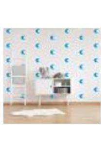 Adesivo Decorativo De Parede - Kit Com 60 Lua - 034Kab03