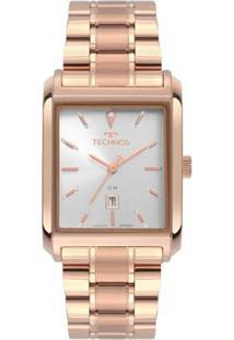 Relógio Technos Dress Analógico Feminino - Feminino-Rose Gold